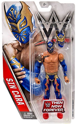 WWE, Basic Series, 2016 Then Now Forever, Sin Cara Action Figure by WWE