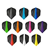 5 x Sets Harrows Retina Mixed Colour Dart Flights Standard