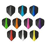 3. PerfectDarts 5 x Sets Harrows Retina Mixed Colour Dart Flights Standard