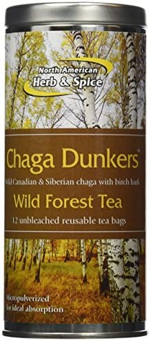 North American Herb and Spice Chaga Dunkers, 12 Count