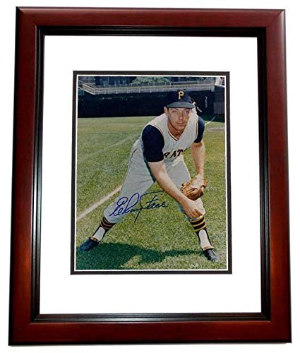 Elroy Face (Elroy Face Signed - Autographed Pittsburgh Pirates 8x10 inch Photo MAHOGANY CUSTOM FRAME - Guaranteed to pass or JSA - PSA/DNA Certified)