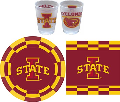 Westrick Iowa State Cyclones Party Pack - 81 Pieces (Serves 24)
