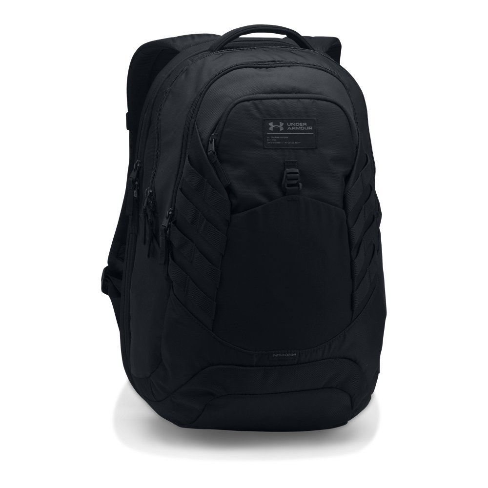 Under Armour Hudson Backpack, Black (001)/Black, One Size Fits All by Under Armour