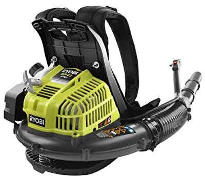 Ryobi ZRRY08420 42cc Gas Powered 2-Cycle Backpack Blower Certified Refurbished