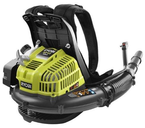 [Ryobi ZRRY08420 42cc Gas Powered 2-Cycle Backpack Blower Certified Refurbished] (Ryobi Backpack)