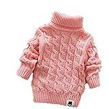 Nine Minow Boys Girls Turtleneck Sweaters Soft Warm Children's Sweater
