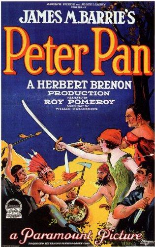 Amazon.com: Peter Pan Póster B 11 x 17 Betty Bronson Ernest ...