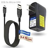 T-Power 5v Rapid Ac Adapter for Ultimate-Ears-BOOM-2 UE-Mini-BOOM MegaBoom-ROLL-2 , Logitech UE Mobile Boombox Speakerphone, Big Blue GO / Logitech X300 / Wireless Bluetooth Portable Speaker Charger