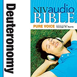 NIV Audio Bible, Pure Voice: Deuteronomy