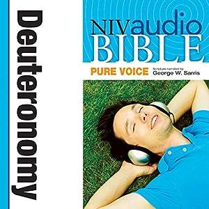 NIV Audio Bible, Pure Voice: Deuteronomy Audiobook