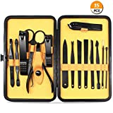 Best Mens Manicure Sets - Manicure Pedicure Set Nail Clippers, Aofmee Stainless Steel Review