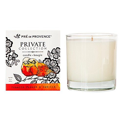 (Pre de Provence Private Collection Fragrant Candle - Tobacco Flower and Vanilla )