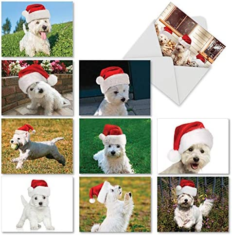 4 Dog Great Pyrenees Puppy Dogs Puppies Stationery Greeting Notecard// Envelopes