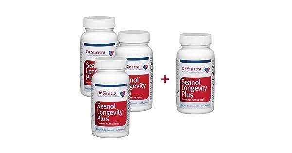 Amazon.com: Dr. Sinatra seanol Longevidad Plus de la salud ...