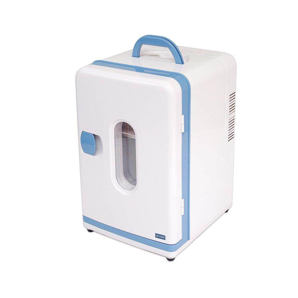 RY Frigorifero per auto - Frigorifero portatile per congelatore da auto da 16 litri Frigorifero per mini frigo e congelatore per dormitori per bambini in miniatura