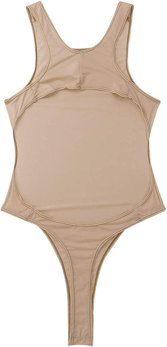 iiniim Damen Body Transparent Bodysuit Stringbody Tops Dessous Babydolls Negligee Overall Reizw/äsche Unterw/äsche