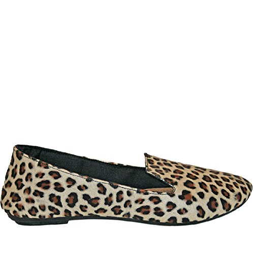 Dawgs Womens Kaymann Smoking Smoking Loafer Leopard