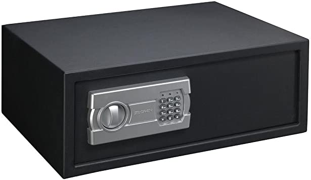 Low Profile Quick Access Electronic Safe for Car or Home Closet Stack-On New