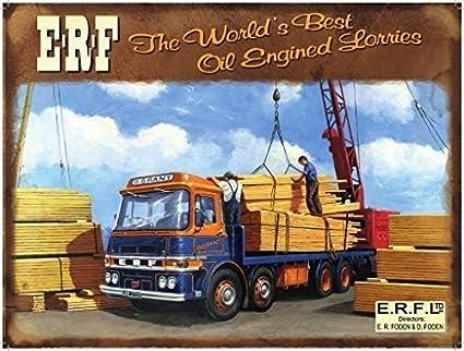 ERF De todo el mundo best aceite motor camiones. G G concesión. Madera yarda Craine