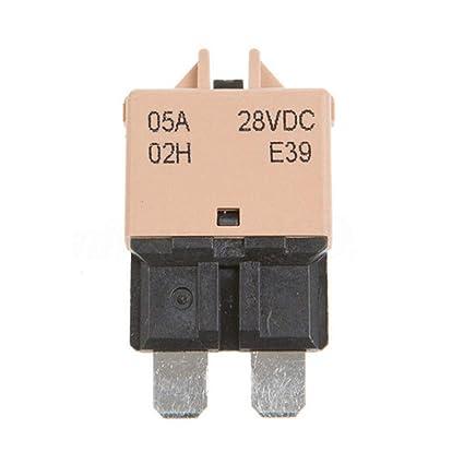 amazon com houtby 5a fuse 12v 24v fits circuit breaker blade 5 30a