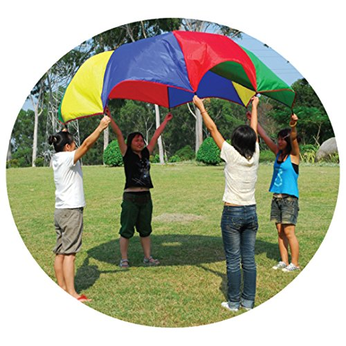 GigaTent 10' Multi Use Parachute Play Tent, Multi-Color