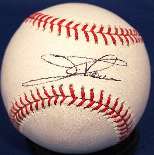 Jim Thome Autographed Official Major League Baseball - Authentic Signed MLB Baseballs - Jim Thome Signed Mlb Baseball