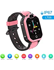 Festnight LT05 4G Intelligent Watch for Kids BT Video Call IP67 LBS Waterproof Anti-lost Children Smartwatch Support 11 Languages