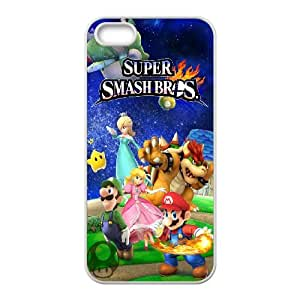 DIY phone case Super Mario Bros cover case For iPhone 5, 5S AS1L7749451
