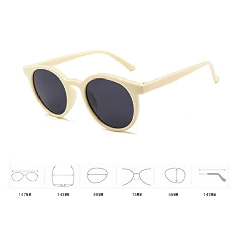 Hzjundasi MOD-Style Cat Eye Series Round Frame Fashion Sunglasses No strength Sun Glasses A Variety of Color Design RFx3bVR