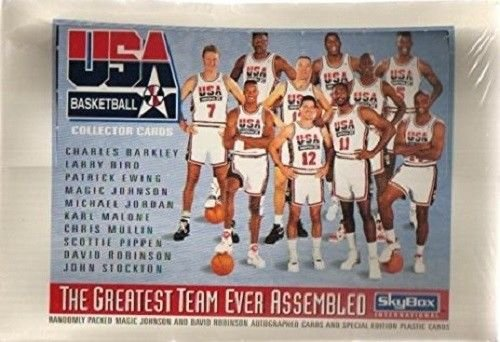 1992 Usa Basketball Dream Team - 1992 Skybox USA Basketball DREAM TEAM WAX BOX 36 Packs GETTING HARD TO FIND!!