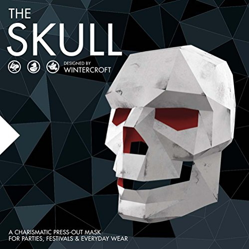 The Skull: A Charismatic Press-Out Mask for Parties, Festivals & Everyday Wear