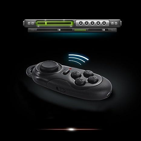 Kkmoon CSY-01 Mini Multifunción Inalámbrico Portátil Bluetooth V3.0 Selfie Shutter la Cámara Remoto Gamepad Game Consola Controlador Compatible con ...