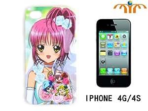 Anime Shugo Chara My Guardian Characters Amu Hinamori Case for Iphone 4 / 4s