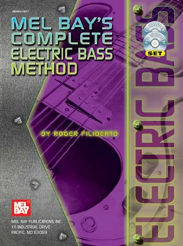 Mel Bay Complete Electric Bass Method (Book, CD, and - Bay Bass Mel