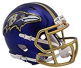 Riddell NFL Baltimore Ravens Alternate Blaze Speed Mini Helmet