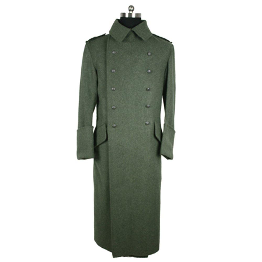 WW2 Reproduction Of M40 Green Woollen Greatcoat-40L