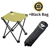 Folding Camping Stool, Portable Chair for Camping Fishing...