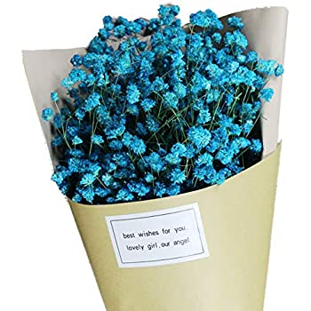 Amazon Com Polytree Artificial Bouquet Of Forget Me Not