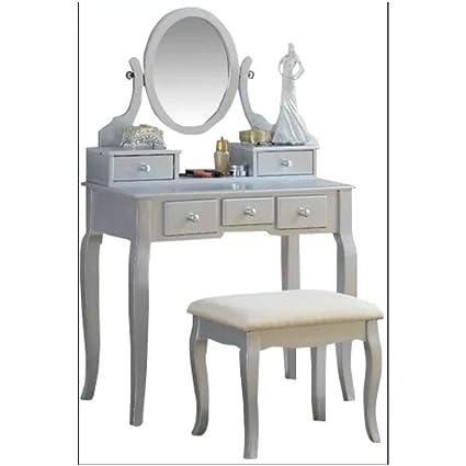 Wondrous Amazon Com Bs Vintage Dressing Table Mirror Makeup Ibusinesslaw Wood Chair Design Ideas Ibusinesslaworg