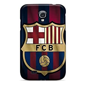 Samsung Galaxy S4 Shock-Absorbing Cell-phone Hard Covers Provide Private Custom Attractive Barcelona Fc Sports Skin [ErR13563YOum]