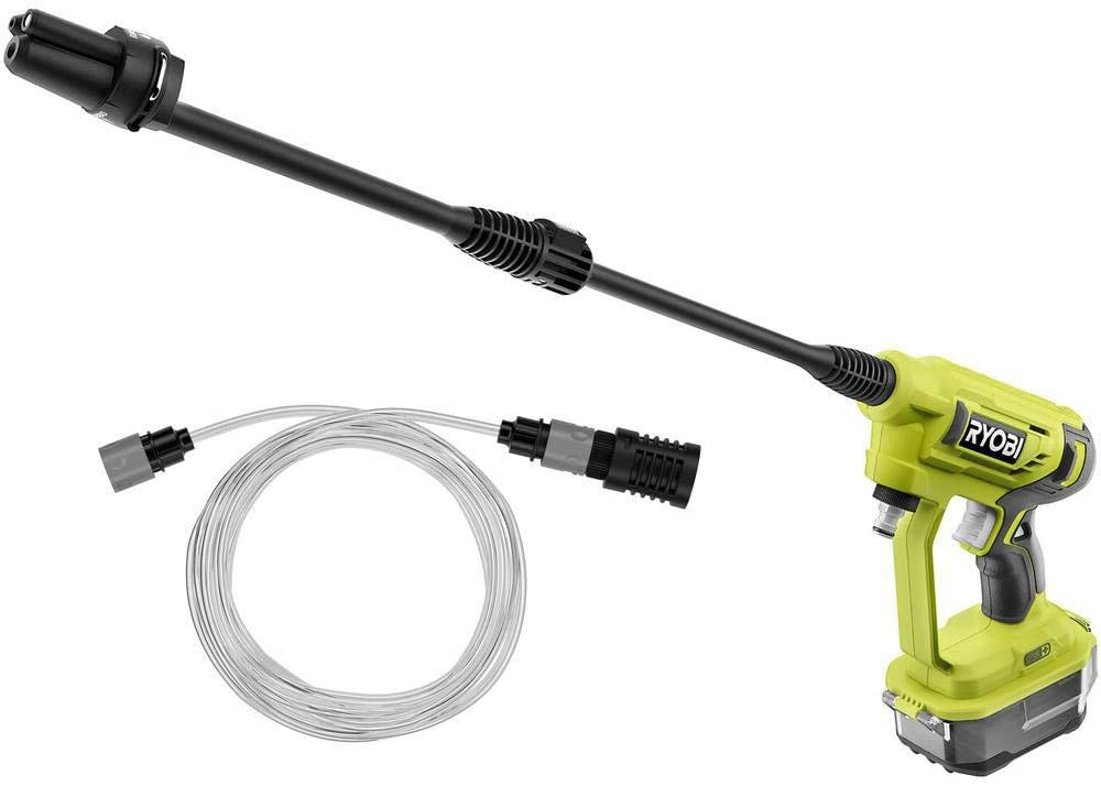 RYOBI RY120350 ONE+ 18-Volt 320 PSI 0.8 GPM Cold Water Cordless Power Cleaner (Tool Only)
