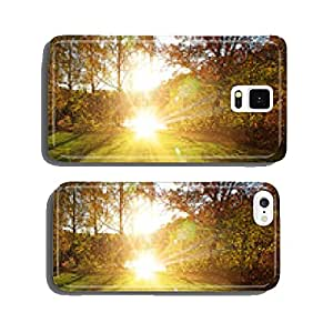 Sun in forest cell phone cover case iPhone5