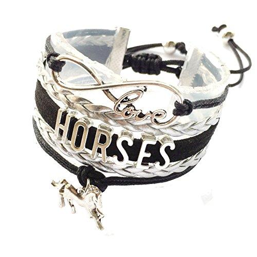 DOLON Braided Horse Bracelet G