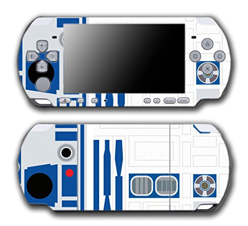 Star Wars R2-D2 Special Edition Droid Video Game Vinyl Decal Skin Sticker Cover for Sony PSP Playstation Portable Slim 3000 Series System (Psp 3000 Special Edition)