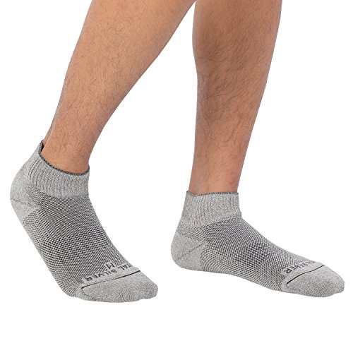 Vital Salveo- Soft Non Binding Seamless Circulation Diabetic Socks- Ankle Short (Large-3 Pairs) by Vital Silver (Image #2)