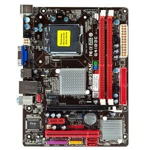 Biostar G41D3C LGA 775 (Socket T) Micro ATX - Placa base (800,1066,1333 MHz, Dual, 8 GB, Intel, Celeron,Core 2 Duo,Core 2 Quad,Pentium Dual-Core, LGA 775 (Socket T))