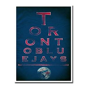 """Toronto Blue Jays EYE 12x16"""" Poster Print Wall Art Décor"""
