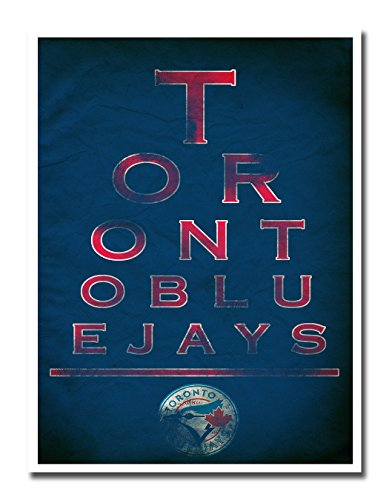 "Toronto Blue Jays EYE 12x16"" Poster Print Wall Art Décor"
