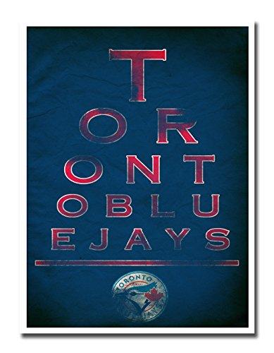 Atlas Toronto Blue Jays EYE 12x16 Poster Print Wall Art Décor
