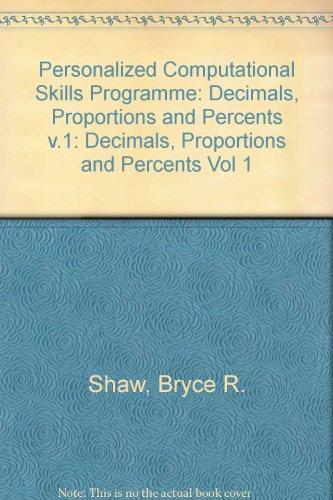 PCsp - Module C  Decimals, Etc (Vol 1)
